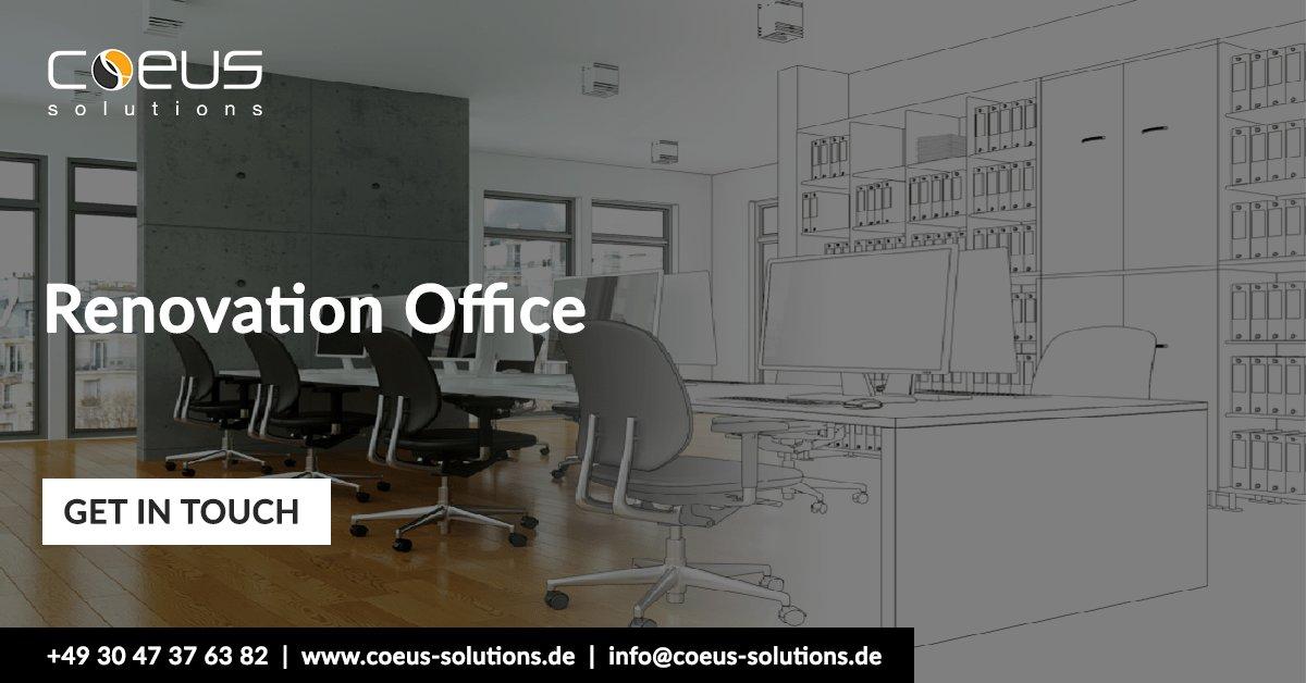 The Idea of Renovation Office