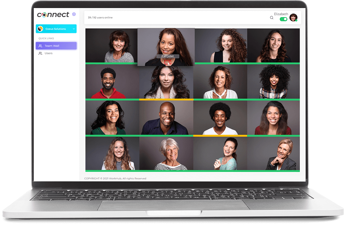 workhub video conferencing software